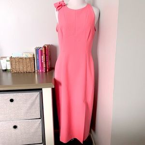 MILLY Cady Caedyn dress in PINK size 8 nwt